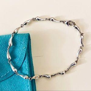 Elsa Peretti Teardrop Sterling Bracelet - Tiffany